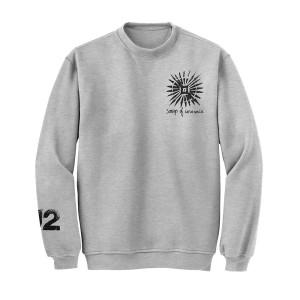 Songs Of Innocence Pull Over Crew Sweatshirt (Grey)