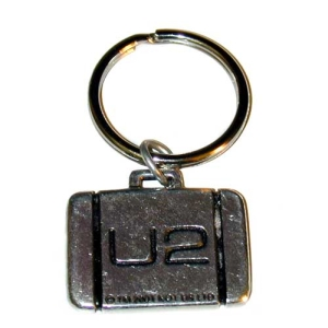 U2 Keychain Metal Suitcase/Heart