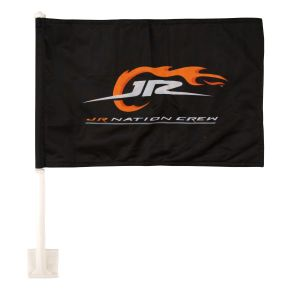 JR Nation Crew Car Flag