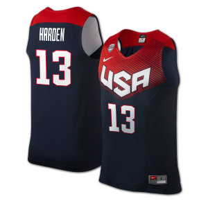 James Harden 2014 USA Basketball Jersey