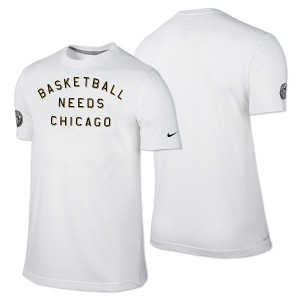 Chicago World Basketball Festival T-shirt