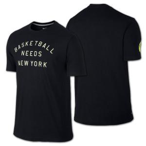 New York World Basketball Festival T-shirt
