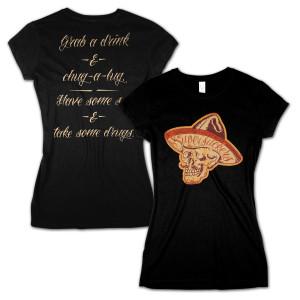 Supersuckers Mexiskull Ladies T-Shirt