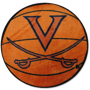 UVA Basketball Rug