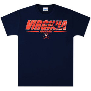 UVA Football Lines T-shirt