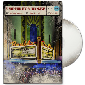 Live at Boulder Theater DVD/Blu-Ray