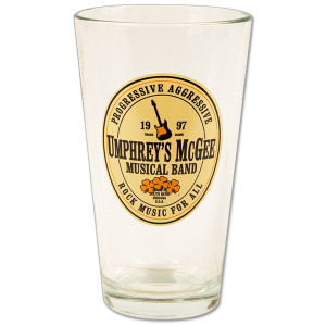 Umphrey's McGee- Pint Glass - Beer Label Logo