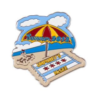 Summer Tour 2012 Pin