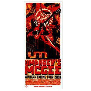 Umphrey's McGee 2005 Commemorative Winter Tour Poster-Large