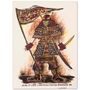Limited Edition Show Poster Syracuse, NY 1/17/13