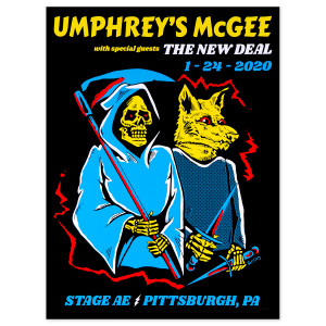 BossDog Stage AE Pittsburgh Poster