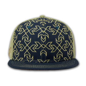 UM Grassroots Hat - Navy/Green