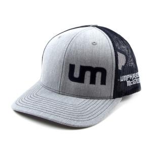 Mesh Trucker Hat - Gray/Navy
