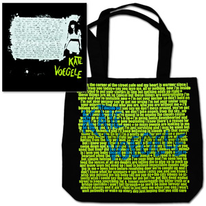Kate Standing Lyrics Tote Bag