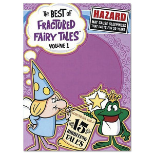 The Best of Fractured Farirytales DVD