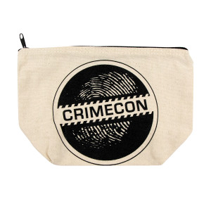 CrimeCon Logo Cosmetic Bag