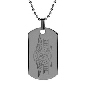 Tour Logo Dog Tag