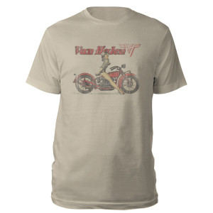 Van Halen Motorcycle Pin Up T-Shirt