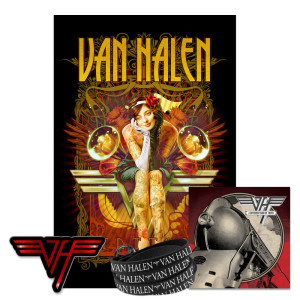 Exclusive Van Halen Accessories bundle