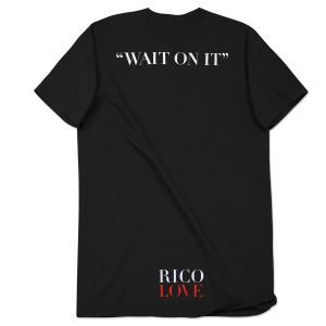 Rico Love Fall Off Men's Black T-Shirt