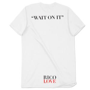 Rico Love Fall Off Men's White T-Shirt