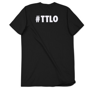 Rico Love Discrete Luxury Men's Black T-Shirt