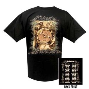 Velvet Revolver Skeletons and Coin Tour Tee