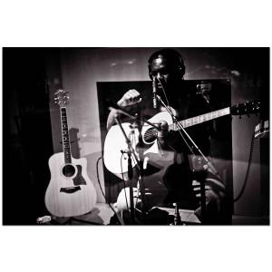 "Vusi Mahlasela ""Say Africa"" Studio Photograph"