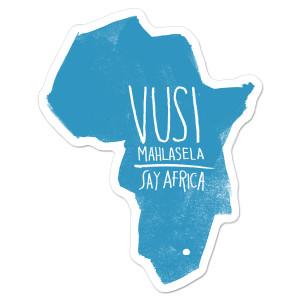 SAY AFRICA Sticker