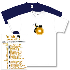 Vusi Mahlasela Winter 2006 Tour Firefly T-Shirt