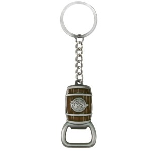 Whisky River Barrel Bottle Opener Keychain