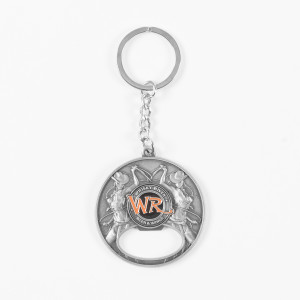 Whisky River Cowgirl Keychain