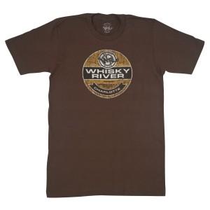 Dale Jr - Whisky River Label Brown T-shirt
