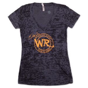 Whisky River Ladies Burnout T-shirt