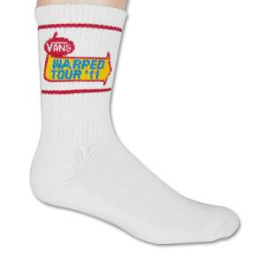 Warped Tour 2011 Logo Socks