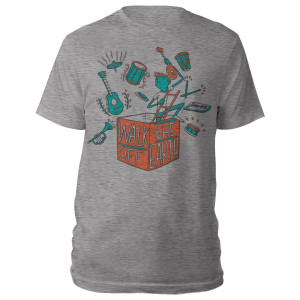 Walk Off The Earth Gray T-Shirt