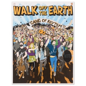 Walk Off The Earth Signed Poster