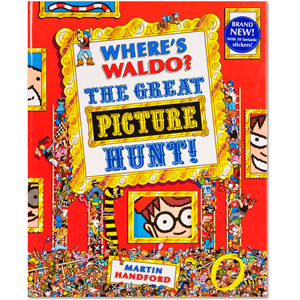 Where's Waldo? The Great Picture Hunt Book (Hard Cover)