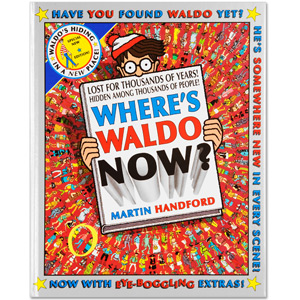 Where's Waldo Now? Book (Hard Cover)