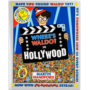 Where's Waldo? In Hollywood Book (Hard Cover)