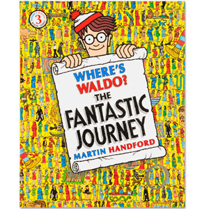 Where's Waldo? The Fantastic Journey Book (Soft Cover)