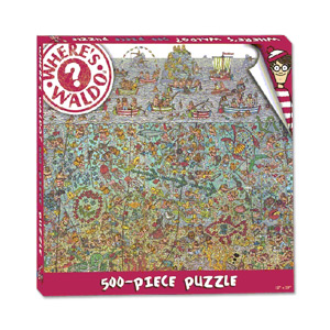 Where's Waldo? 500-Piece Deep Sea Puzzle