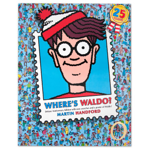Where's Waldo Anniversary Book