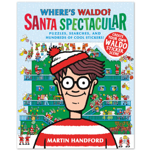 Where's Waldo Santa Spectacular Book