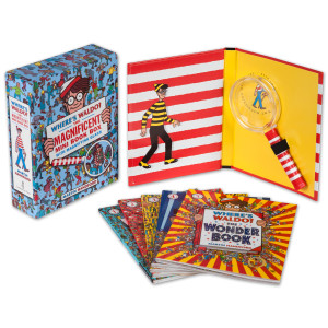 Where's Waldo? The Magnificent Mini Book Box