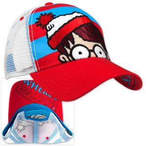 Where's Waldo? Striped Adjustable Cap