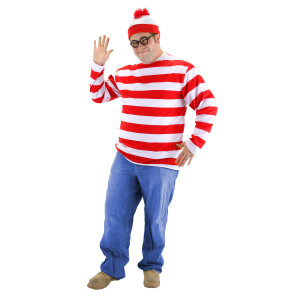 Wheres Waldo XXL Size Costume Kit