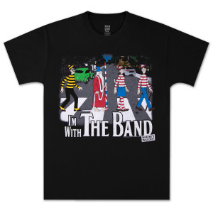 Where's Waldo? With the Band T-Shirt