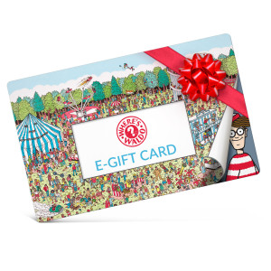 Where's Waldo? Electronic Gift Certificate