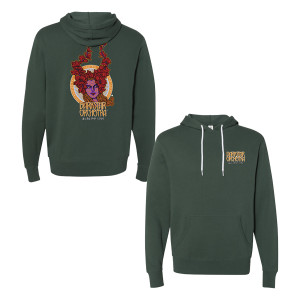DSO Autumn 2020 Pullover Hoodie in Alpine Green